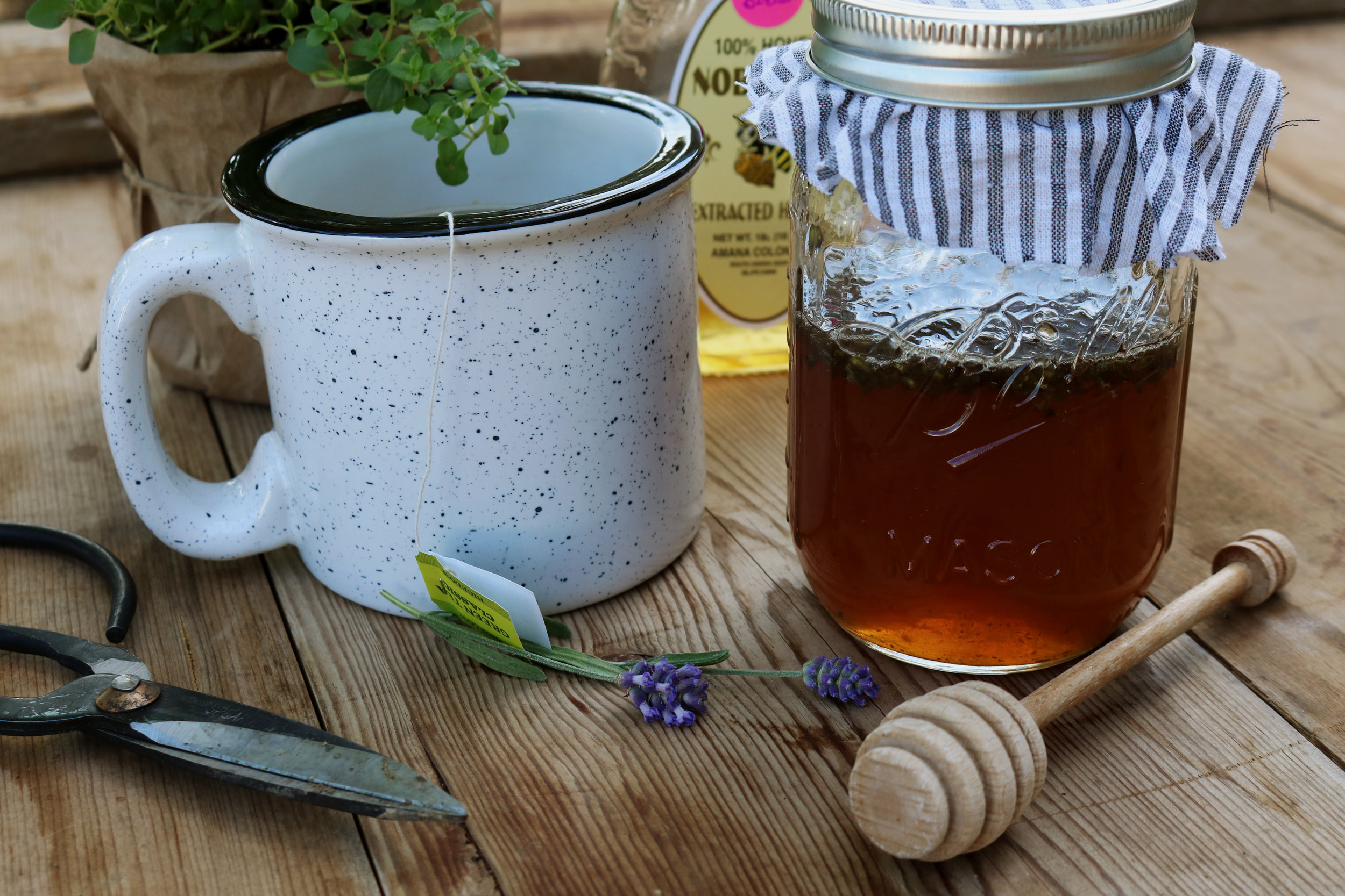 Local Honey and Lavender Nectar for Allergies - Under A Tin Roof Blog