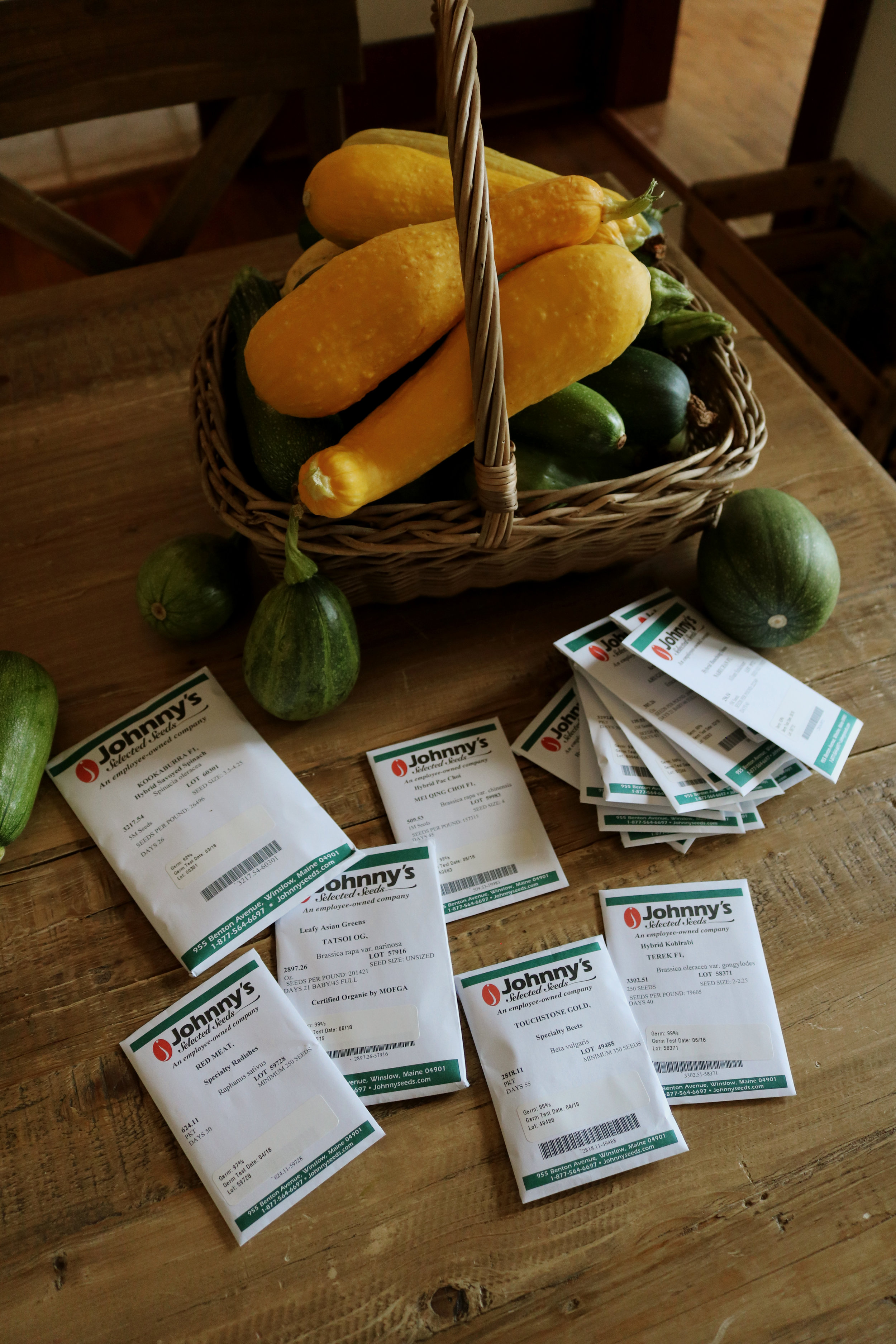 Ordering Fall Seeds 2018 - Under A Tin Roof Blog