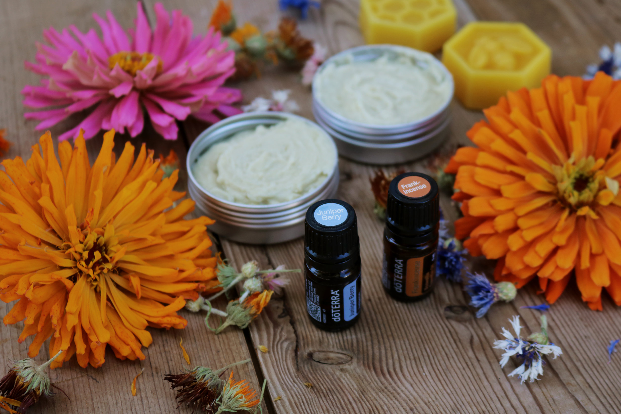 Cold Cream with Frankincense and Juniper Berry - Under A Tin Roof Blog