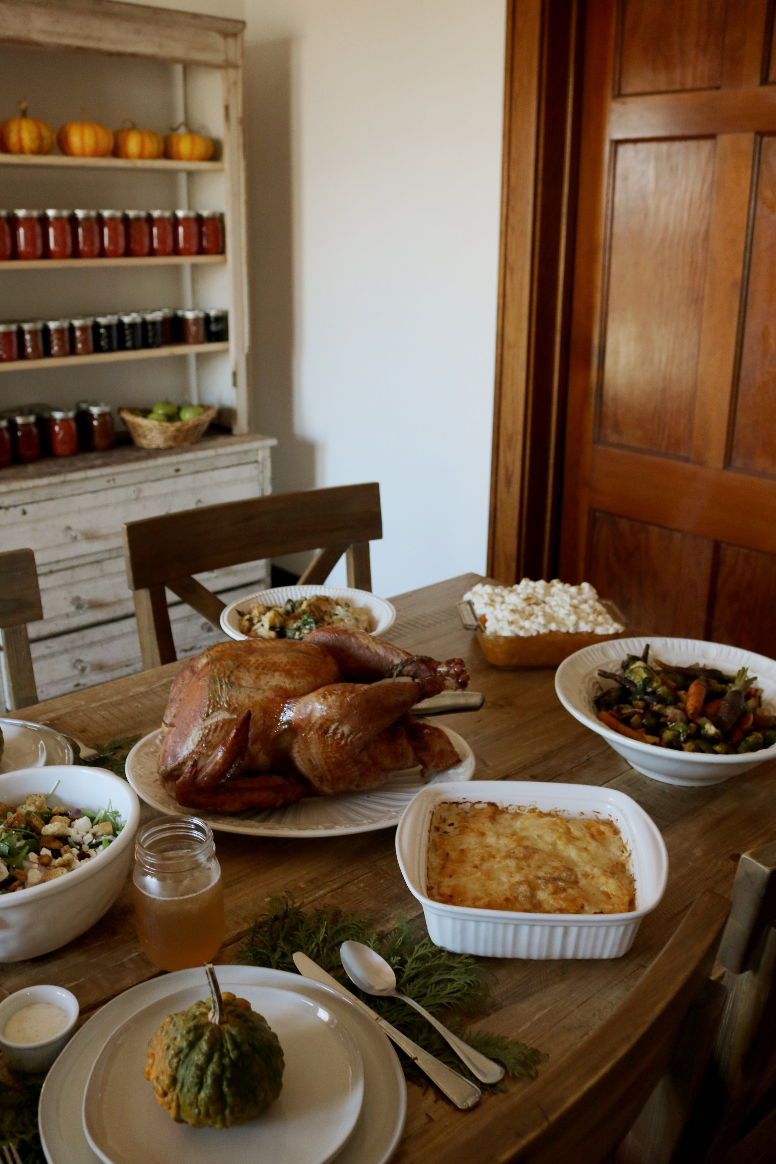 Happy Anniversary Under A Tin Roof! + Our Thanksgiving Menu - Under A Tin Roof Blog