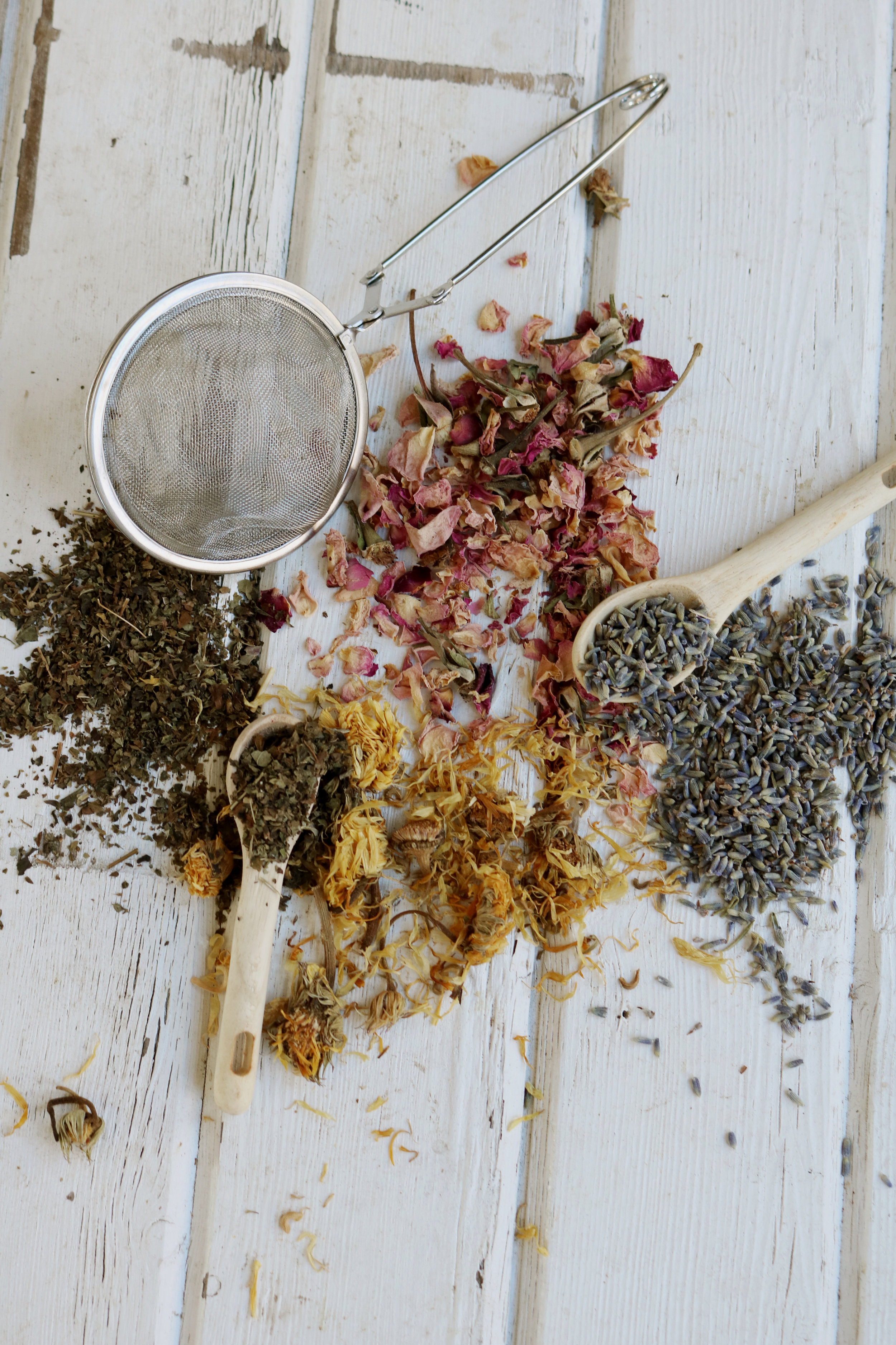 Herbs to Lift Your Mood This Winter - Under A Tin Roof Blog