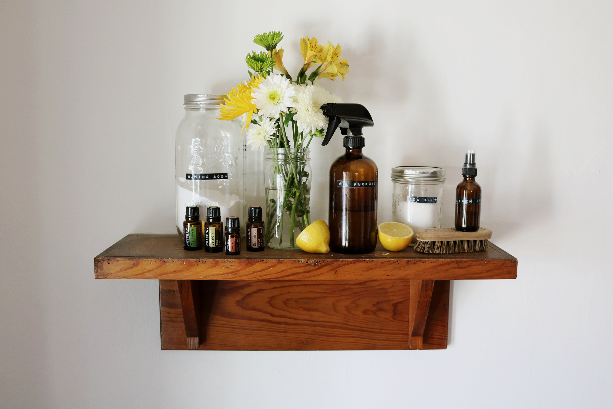 5 Natural Cleaning Recipes for Your Bathroom - Under A Tin Roof Blog