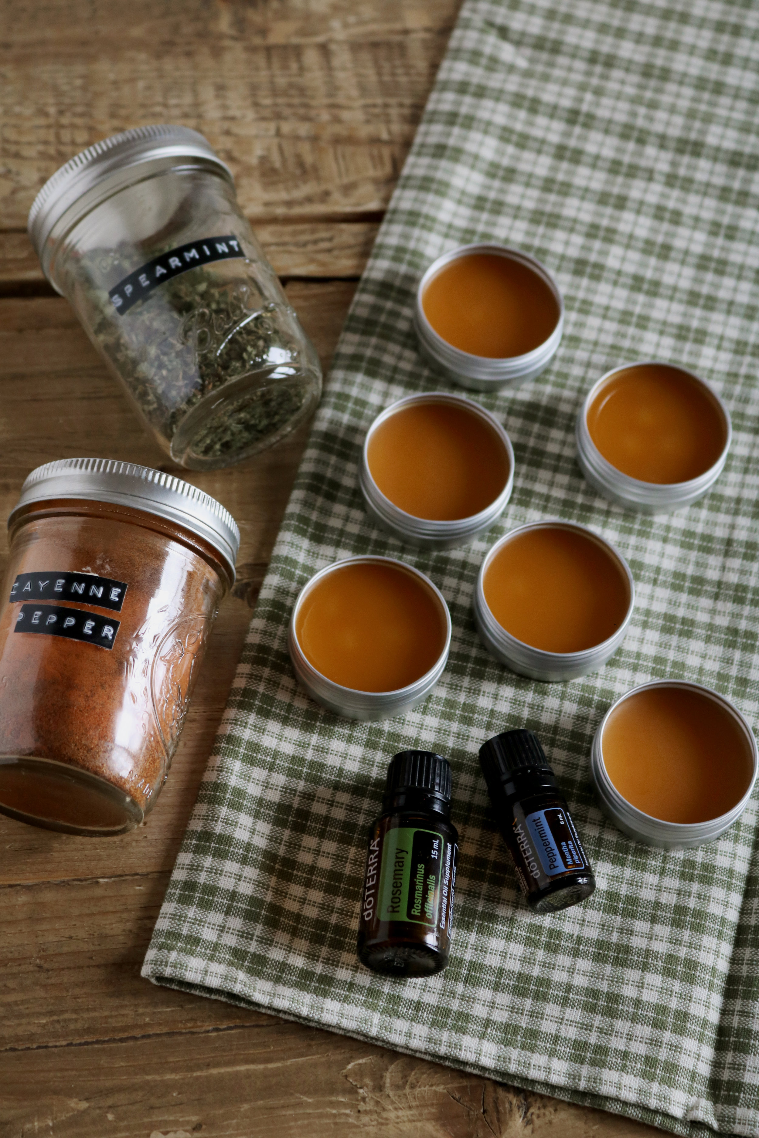 Cayenne Salve for Sore Muscles  - Under A Tin Roof Blog