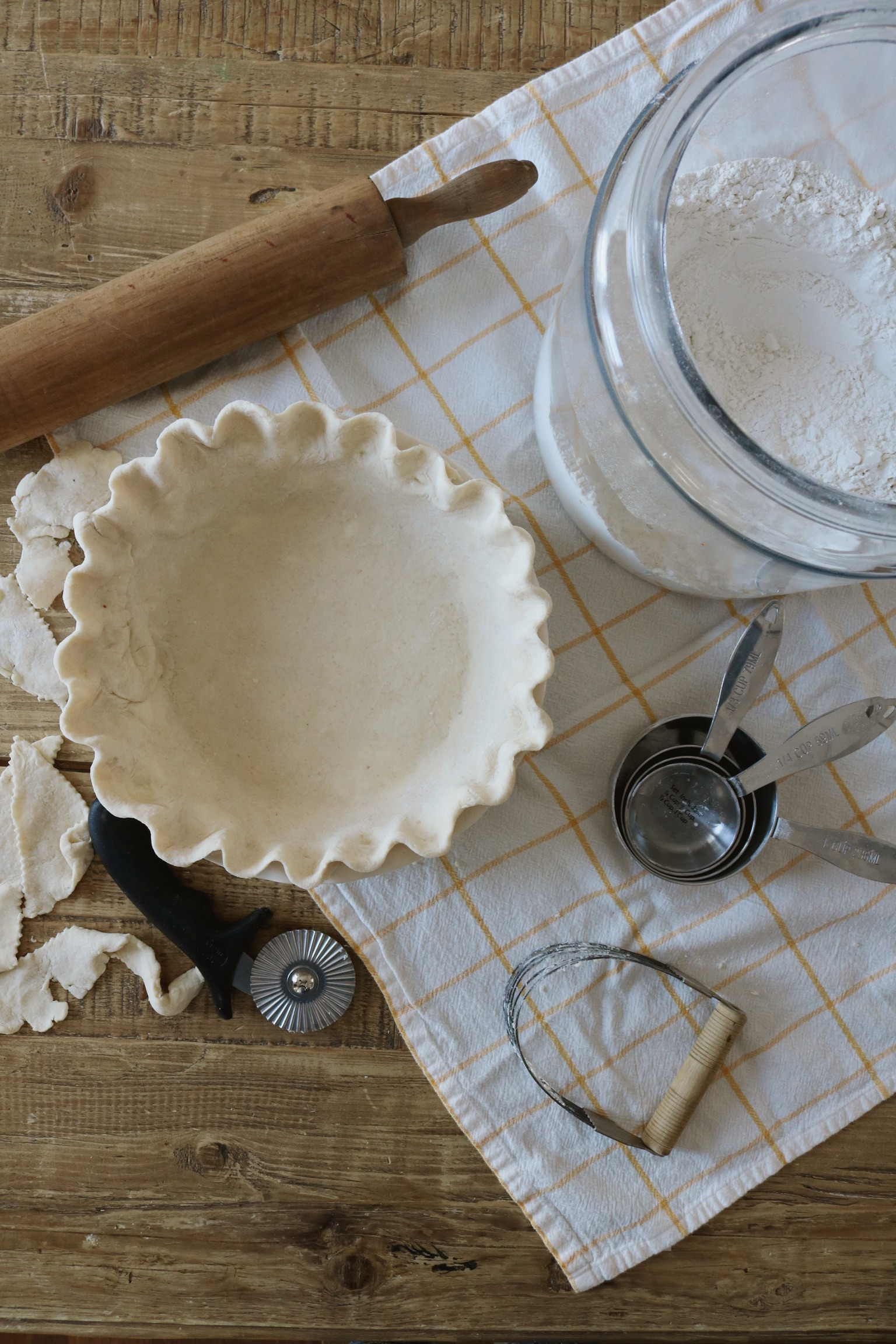 How to Make Perfect Pie Crust - Under A Tin Roof Blog