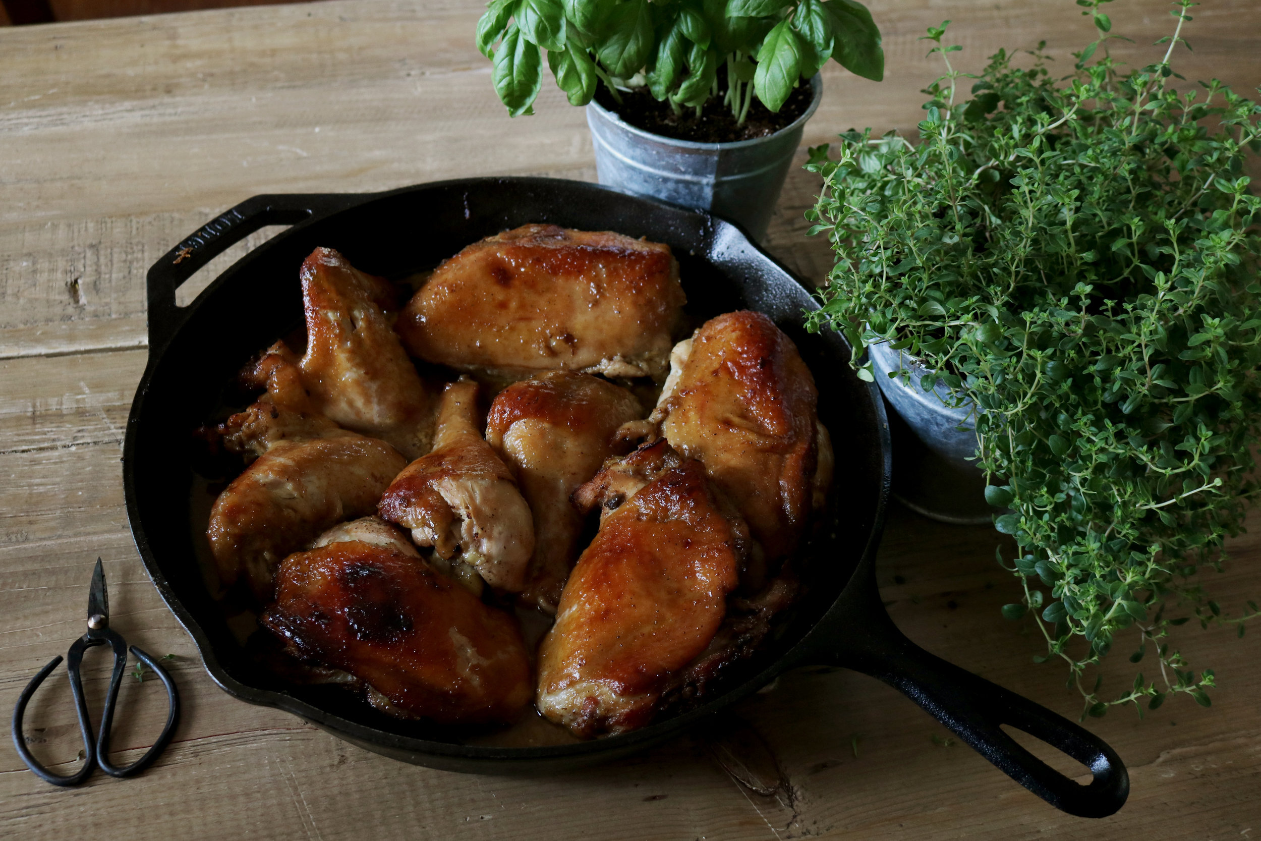 Honey Soy Baked Chicken - Under A Tin Roof Blog