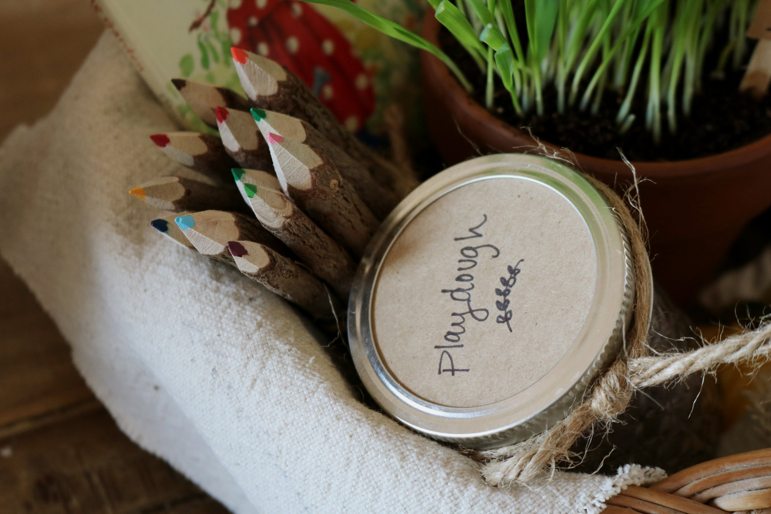 A Sweet and Simple Minimal Waste Easter Basket - Under A Tin Roof Blog