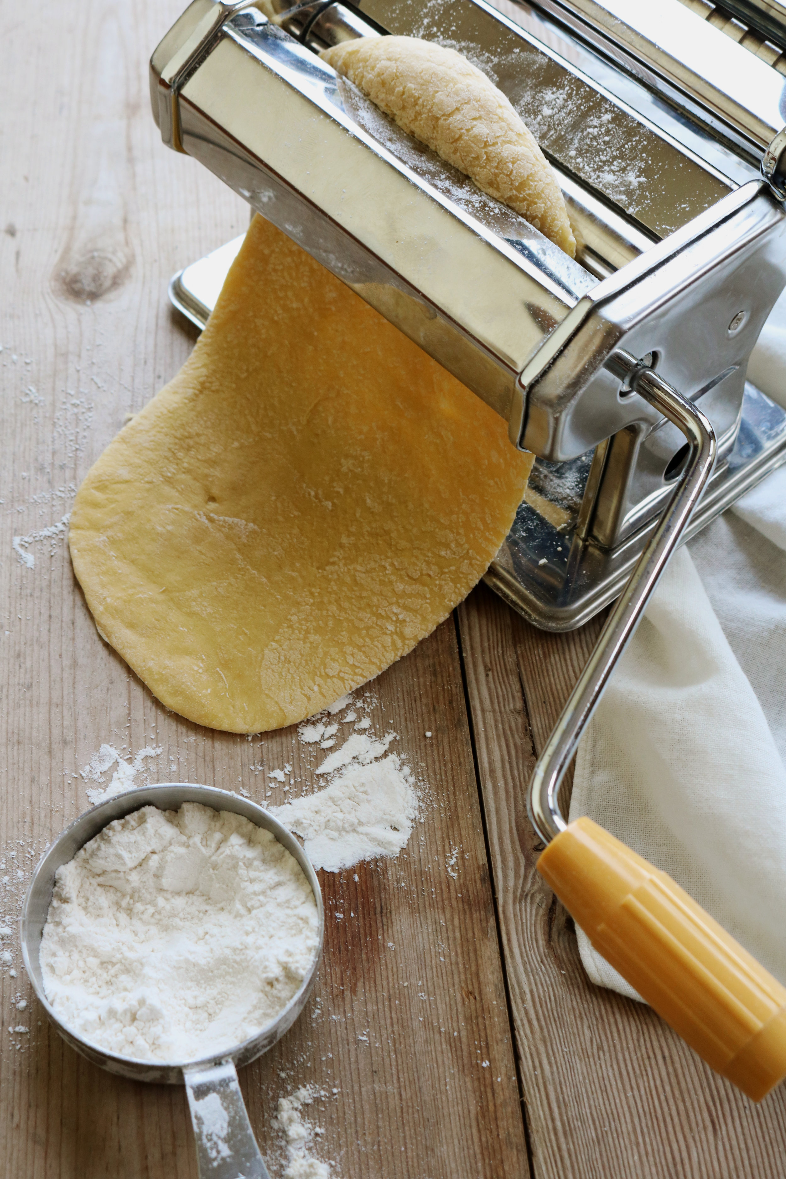 How to Make Pasta from Scratch - Under A Tin Roof Blog