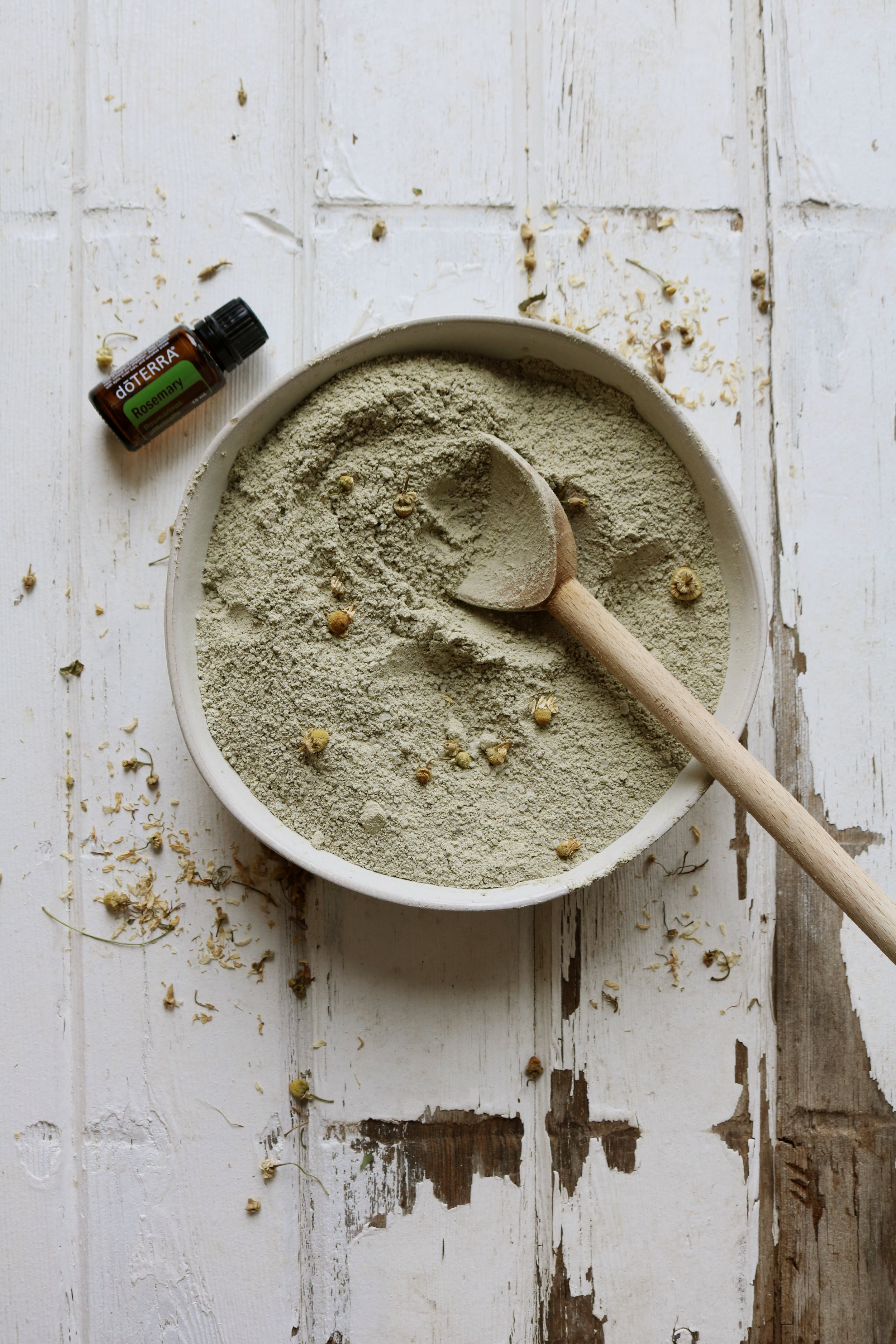 Skin Toning Milk Bath with French Green Clay - Under A Tin Roof Blog