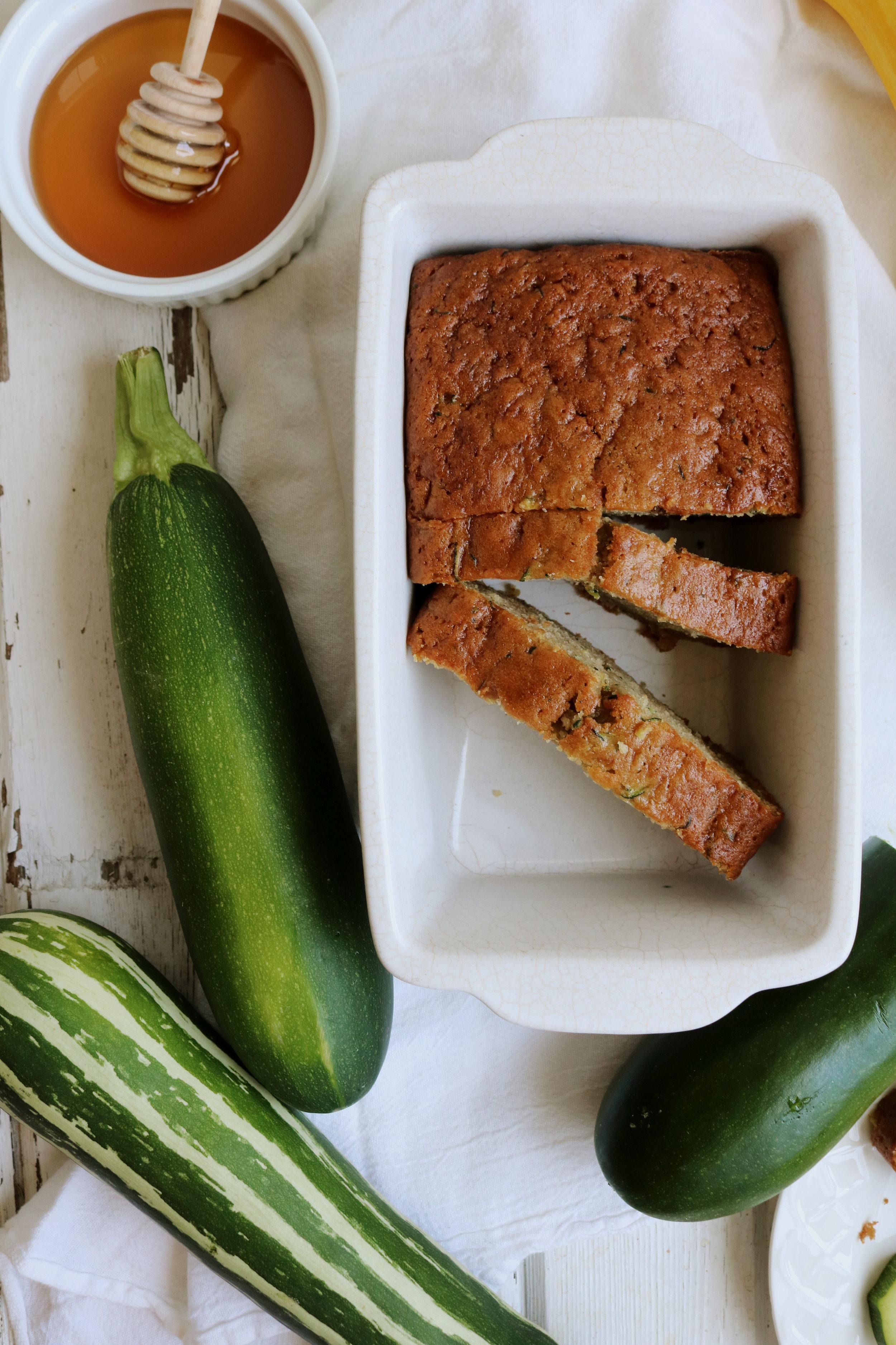 Classic Zucchini Bread - Under A Tin Roof Blog