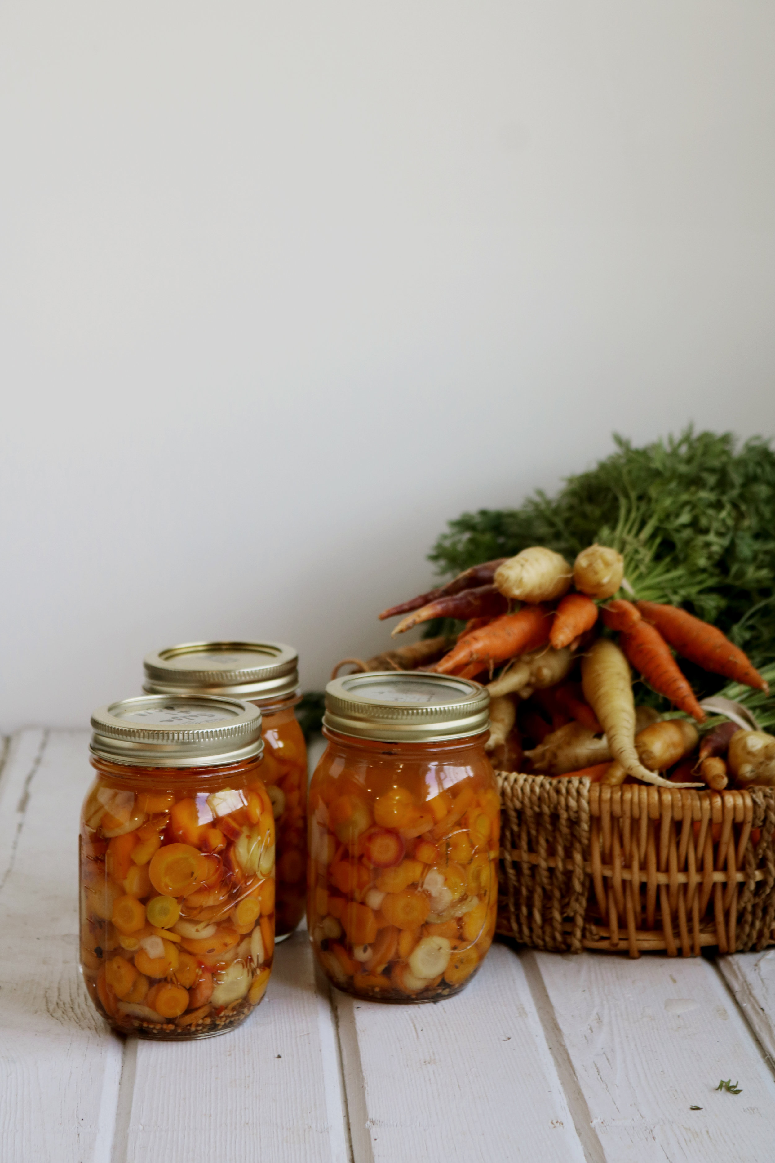 Refrigerator Pickled Carrots - Under A Tin Roof Blog
