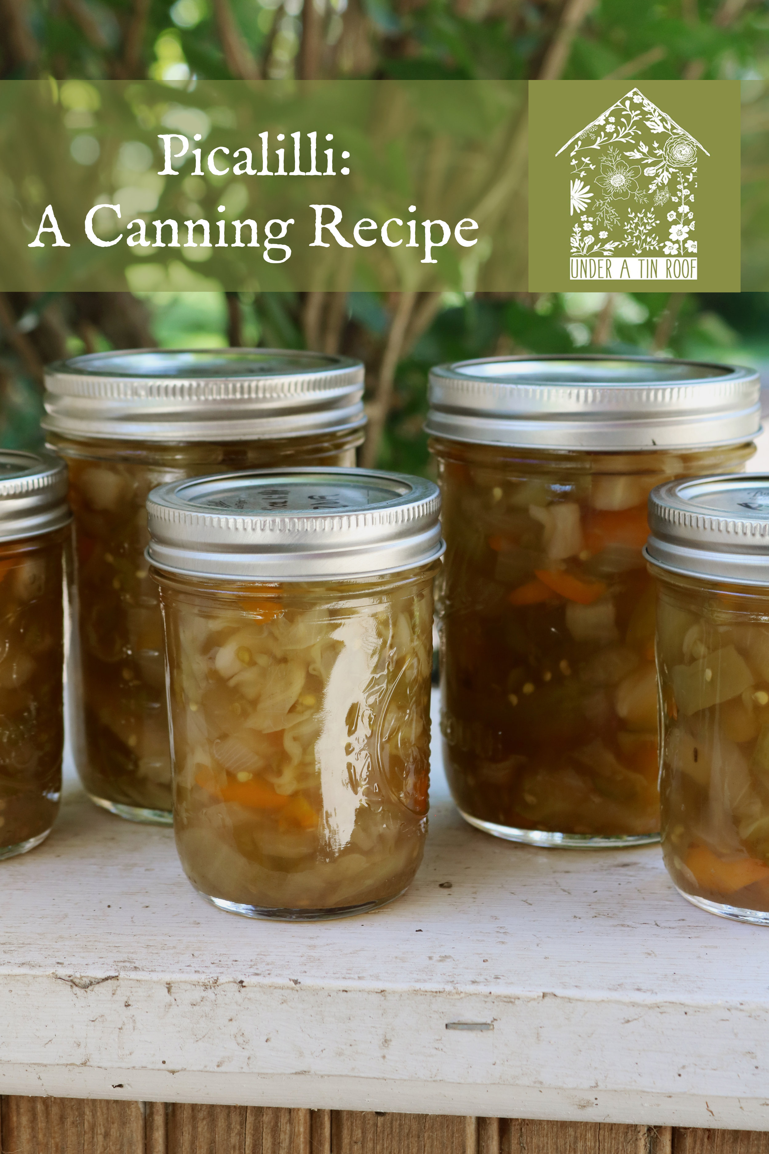 Making Piccalilli - A Canning Recipe - Under A Tin Roof Blog