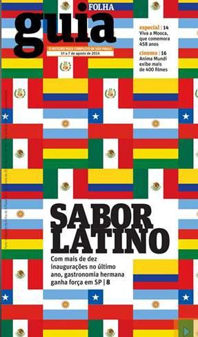 Capa Guia da Folha - Taquería La Sabrosa