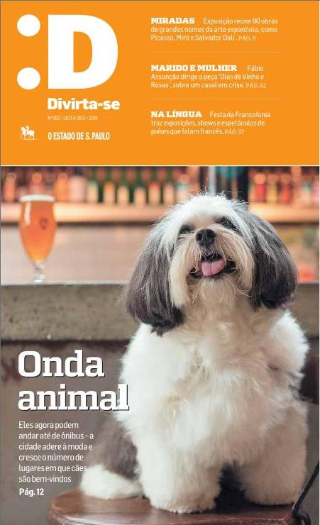 Capa do Divirta-se - Estadão - BrewDog Bar