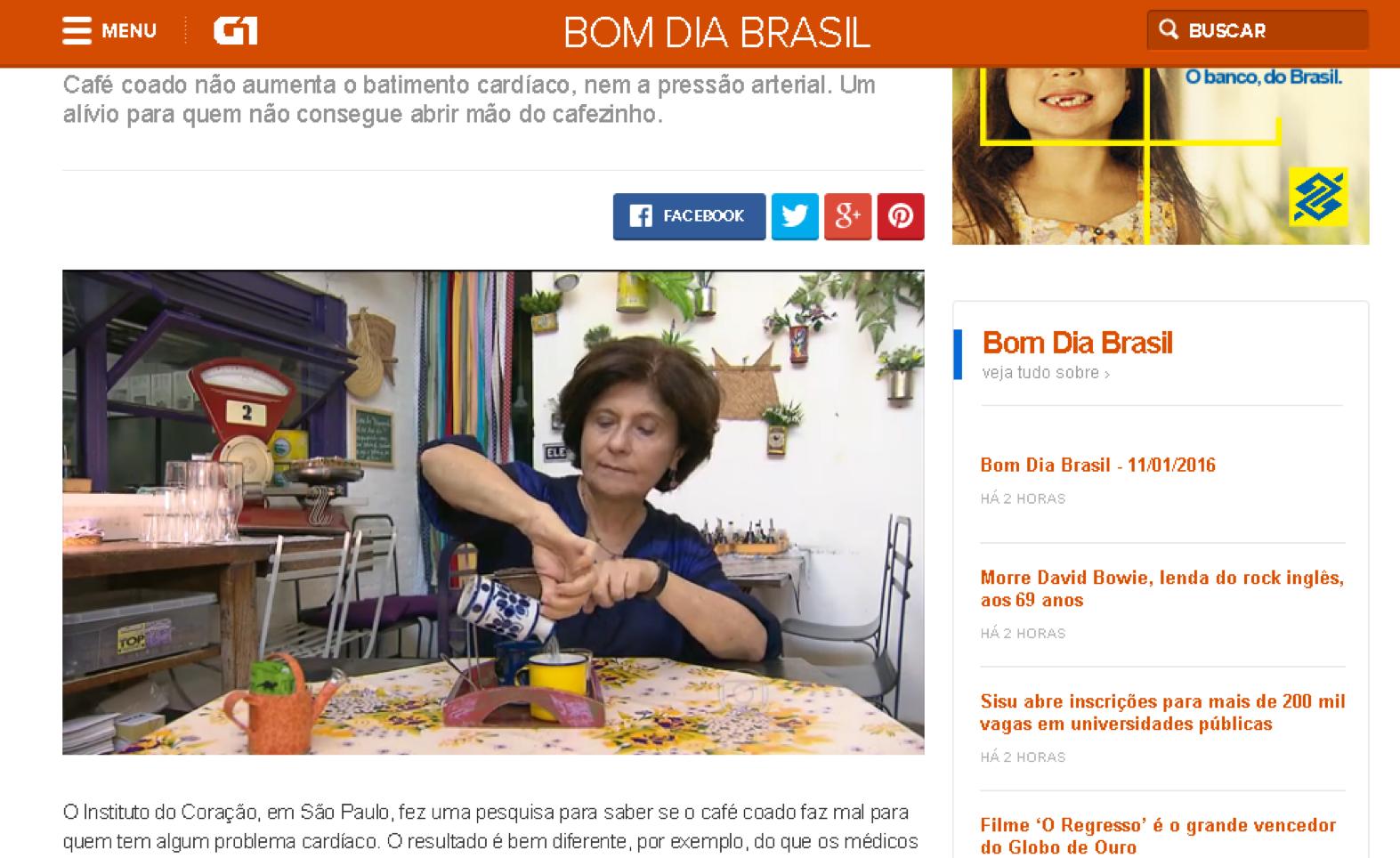 Bom Dia Brasil - Lá da Venda