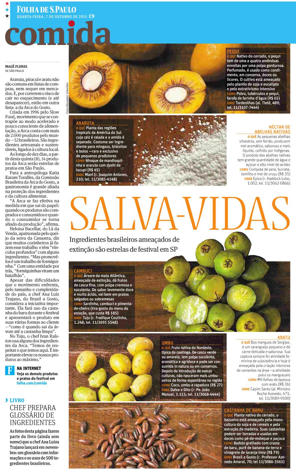Folha Comida - Slow Food