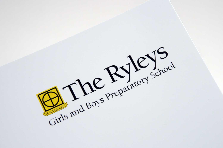 School Prospectus with new branding.