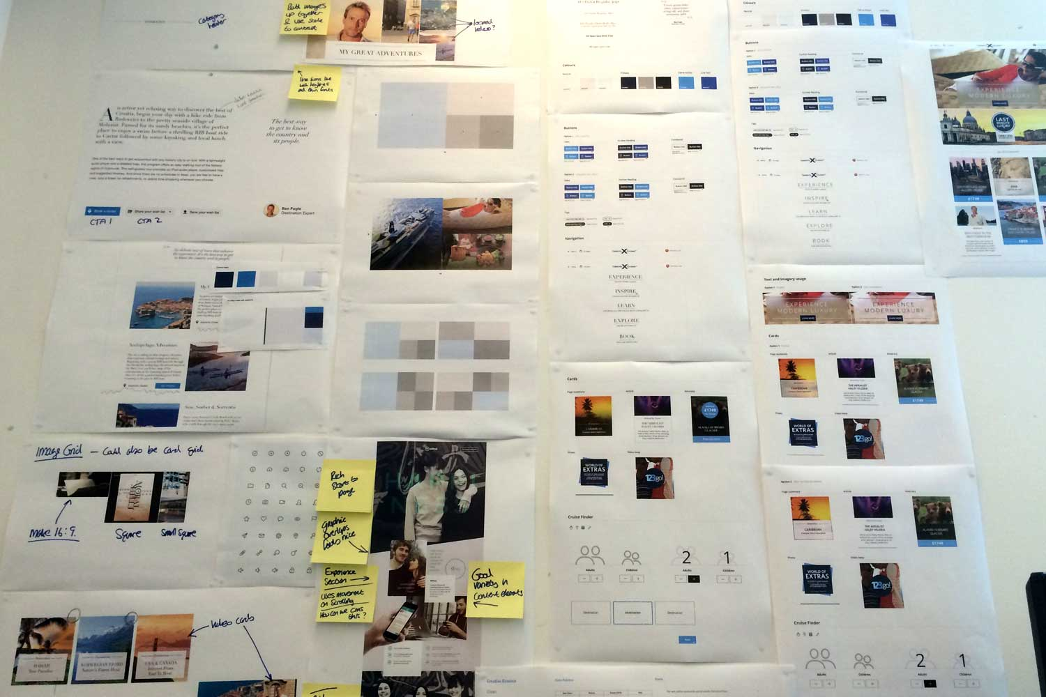 Building up the visual design system