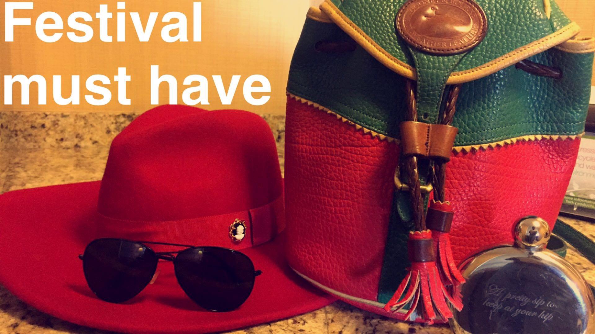 My Festical Essentials