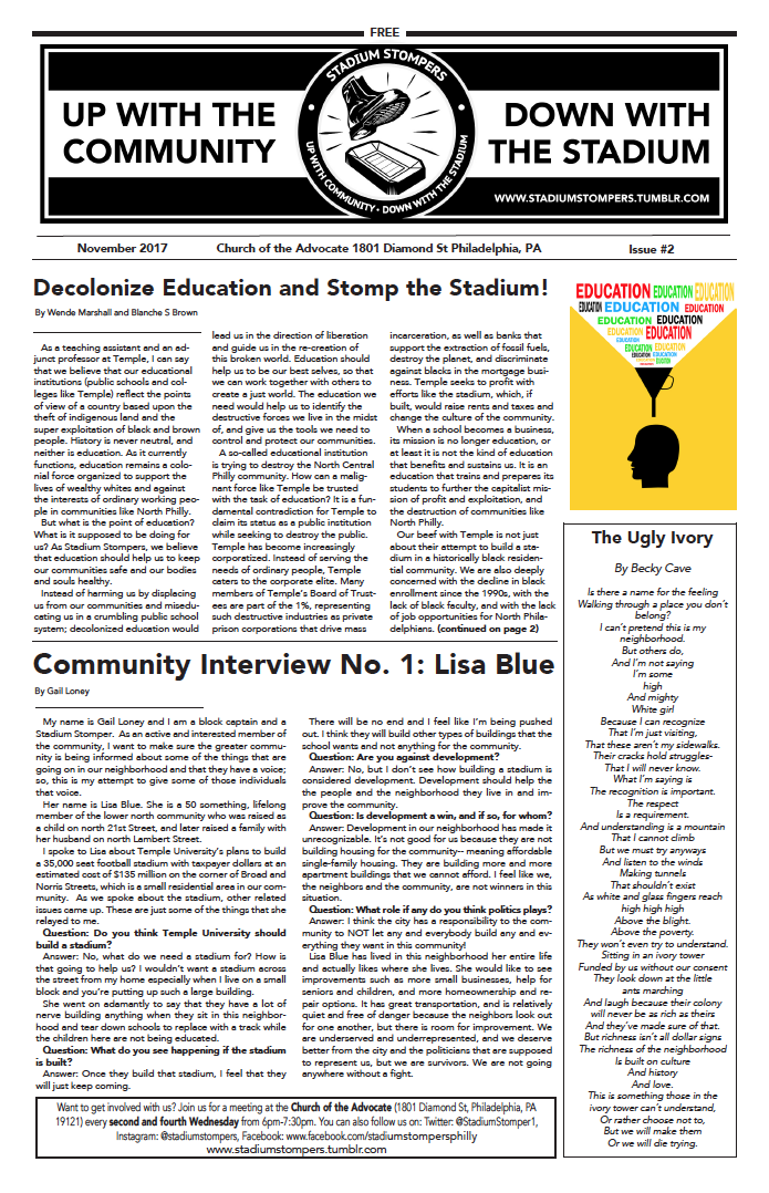 Stompers Newsletter #2