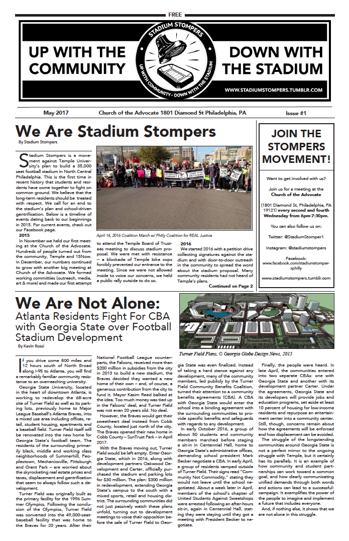 Stompers Newsletter #1