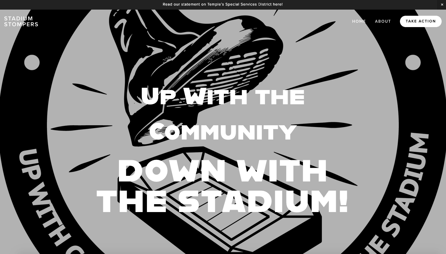Click on the image to visit Stadium Stompers' website! (www.stadiumstompers.org)