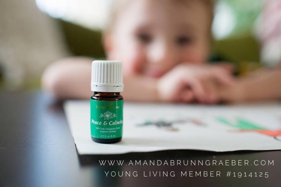 Young Living Essential Oil when you need a little Peace and Calming