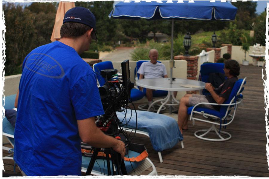 Filming Hap Jacobs