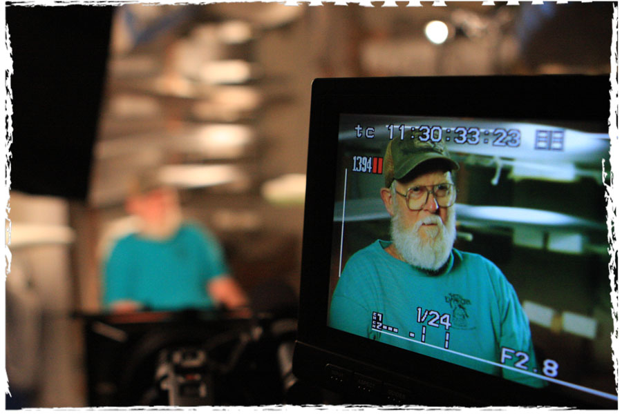 Filming Terry Martin