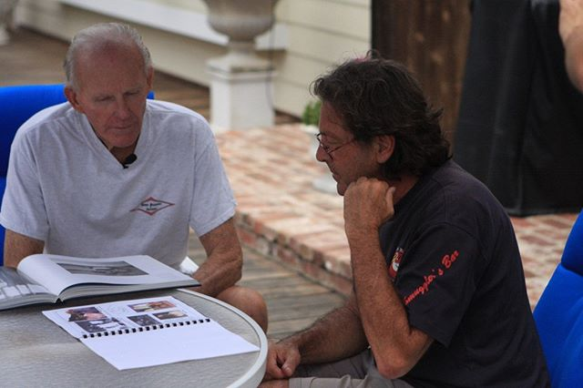BoardRoom - Behind the Scenes with Hap and Bell.  Subscribe to our youtube channel for more content.  https://www.youtube.com/user/BoardRoomFilms  #boardroom #surfing #surfboards #shapers #legends #history #documentary #legacy #heritage #shacc