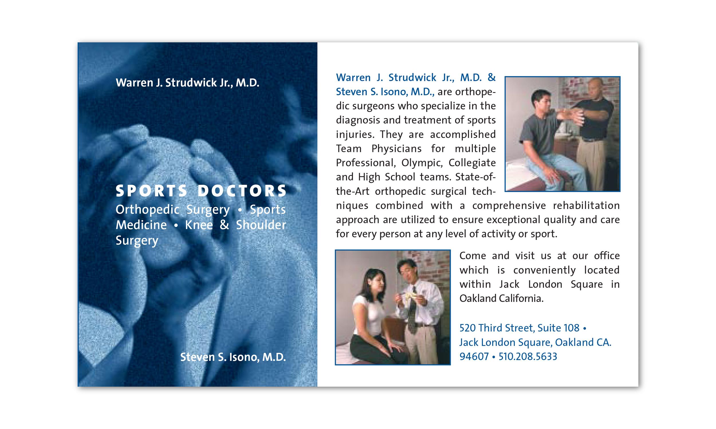 Dr. Warren Strudwick and Dr. Steve Isono
