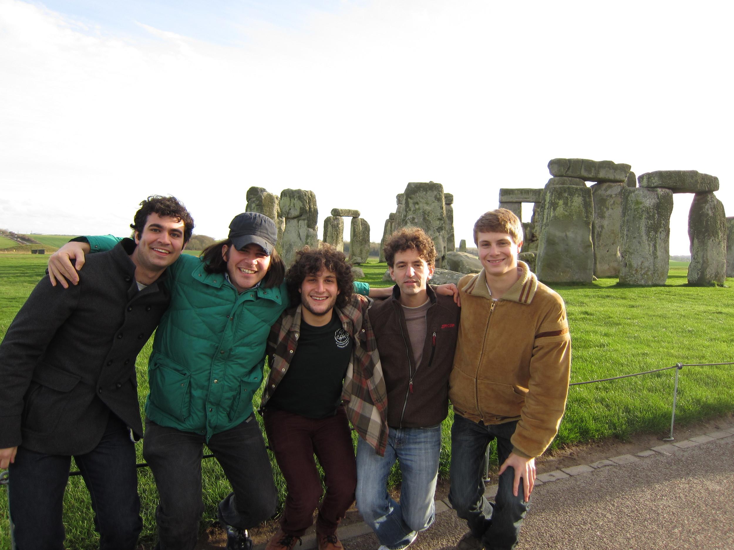 The Deadly Gentlemen at Stonehenge in 2011