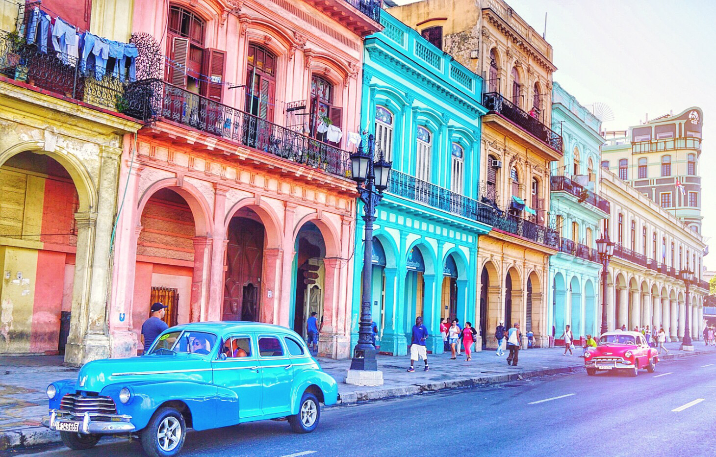 The vintage car tour took us to Fusterlandia, where Cuban artist José Fuster has turned his home neighborhood into a masterpiece of intricate tilework and kaleidoscopic colors. The whole neighborhood looks like an artist's gallery.