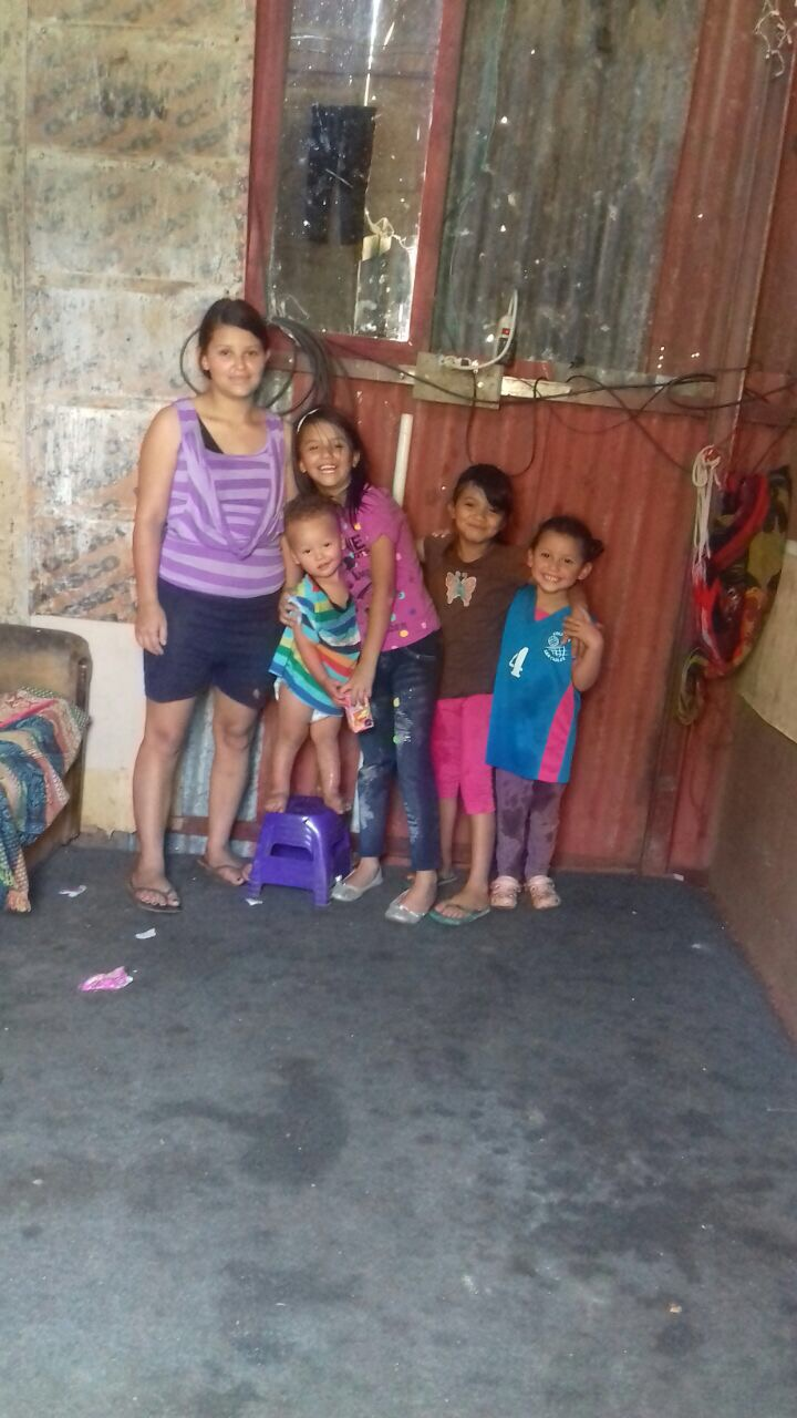 Your giving helped us build a home for Karolina and her kids last year!
