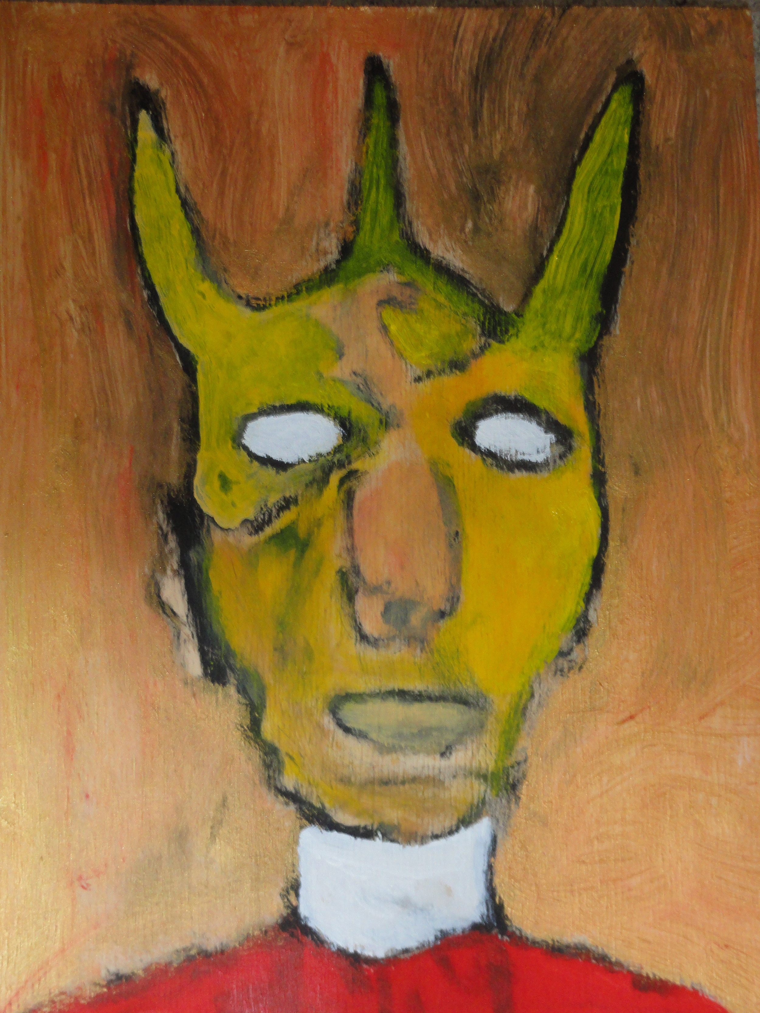 Man With Horns