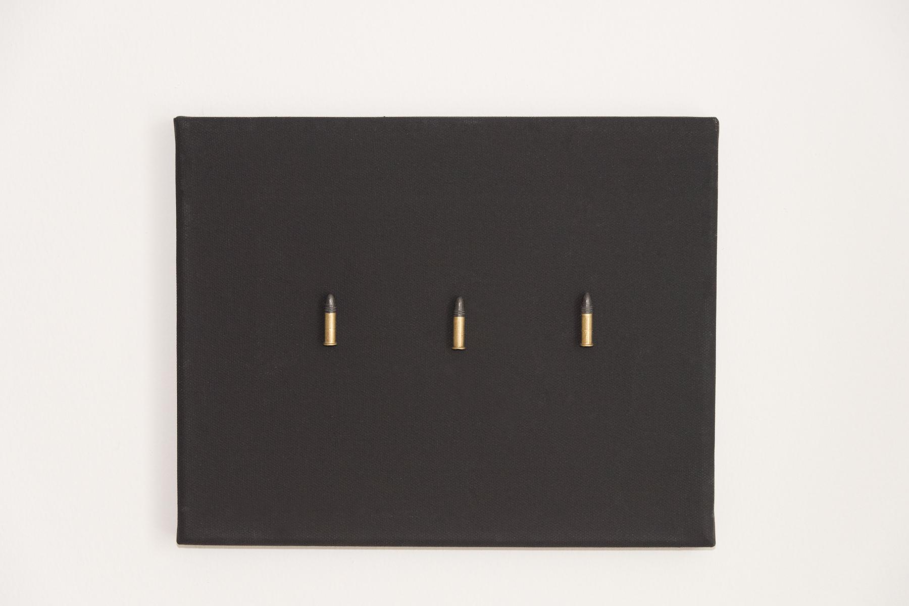 Canvas, .22 Caliber Bullets