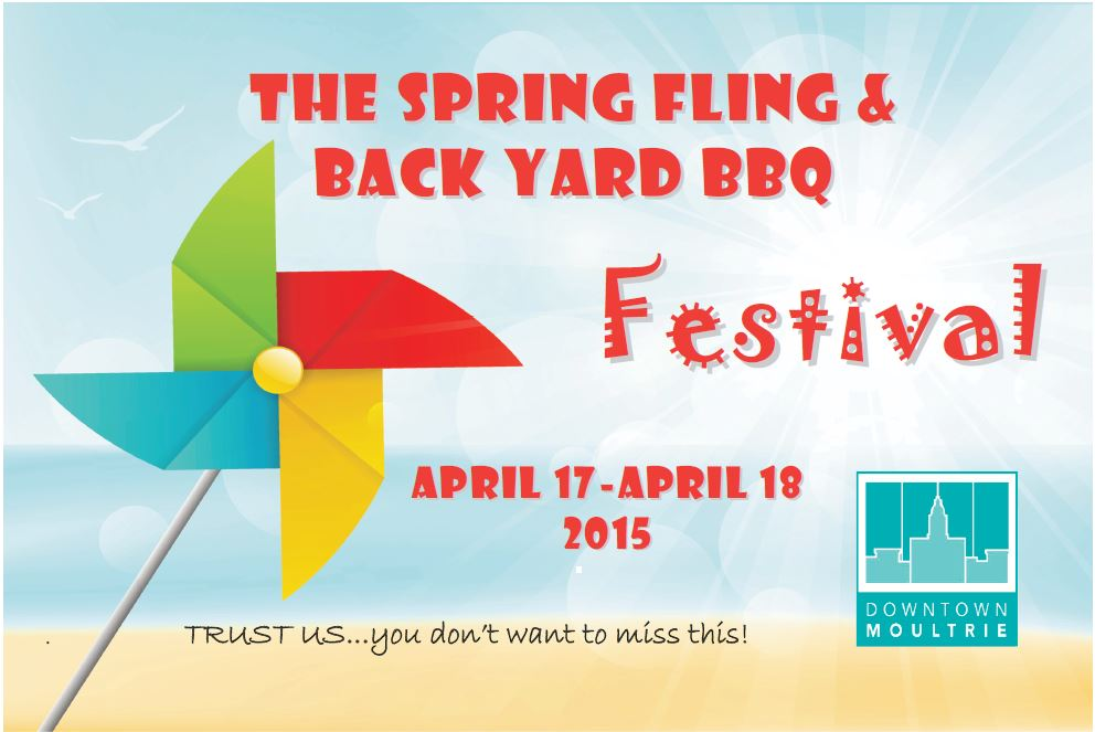 Downtown Moultrie Spring Fling Back Yard BBQ Festival