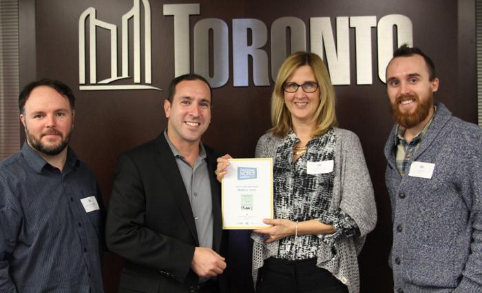 Matthew Blackett  (Spacing Magazine),  Josh Matlow  (Toronto City Councillor),  Tracey Tiersma  (Municipality of Thames Centre),  Jay Wall  (Design Partner)