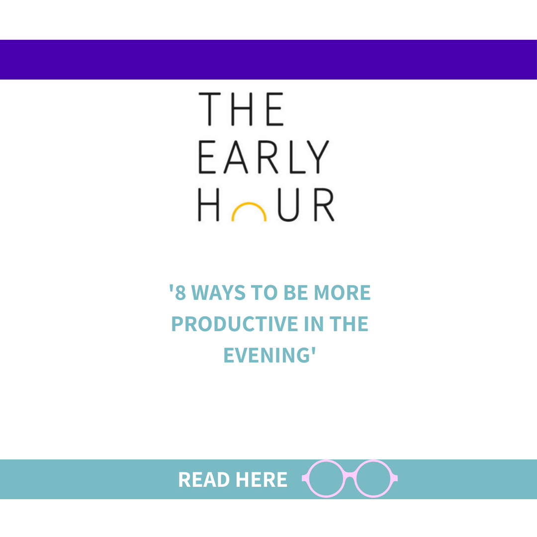 8 ways to be more productive in the evening