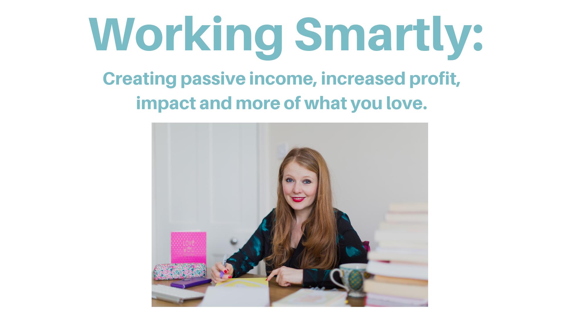 Working Smartly