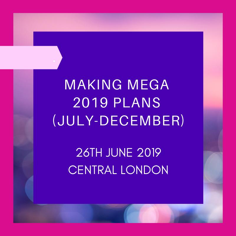 making mega plans 2019