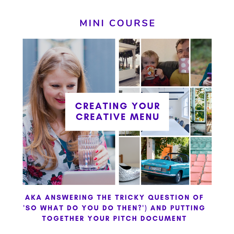 Creating your creative menu   Nicky Raby