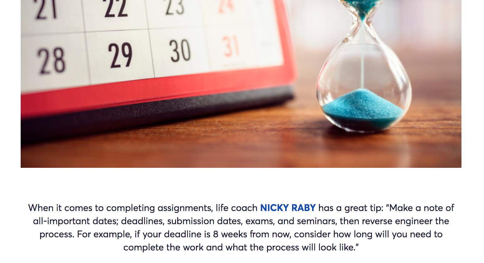 NIDO Student   Nicky Raby