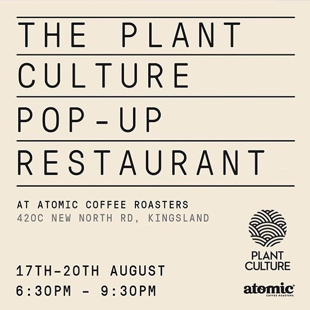 Join us this week at the @_plantculture Pop Up Restaurant experience at @atomiccoffeeroasters Kingsland showcasing the incredible uses of hemp (and other plants) as a nutritious food source 🌱🌿 Bringing together some of Aotearoa's finest wellbeing experts, activists, entrepreneurs and artists - Plant Culture is an organisation on a mission to help people to make proactive choices for our planet right now 🌎  #plantculture #popup #hempseed #gamechangers #hempforvictory #hempforvictorynz