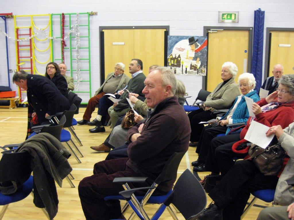 The audience at the Rob Donn talk on Dec. 5th