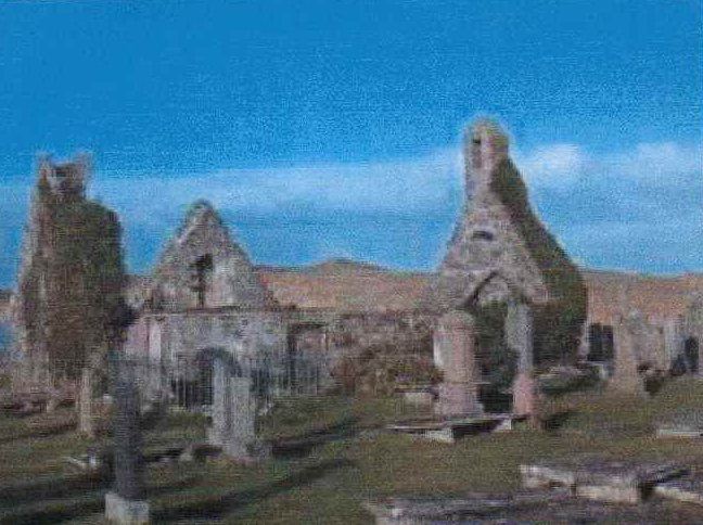 The old church at Baile na Cille where Rev Murdoch MacDonald was a minister