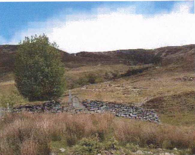 Allt na Caillich where Rob Donn was born