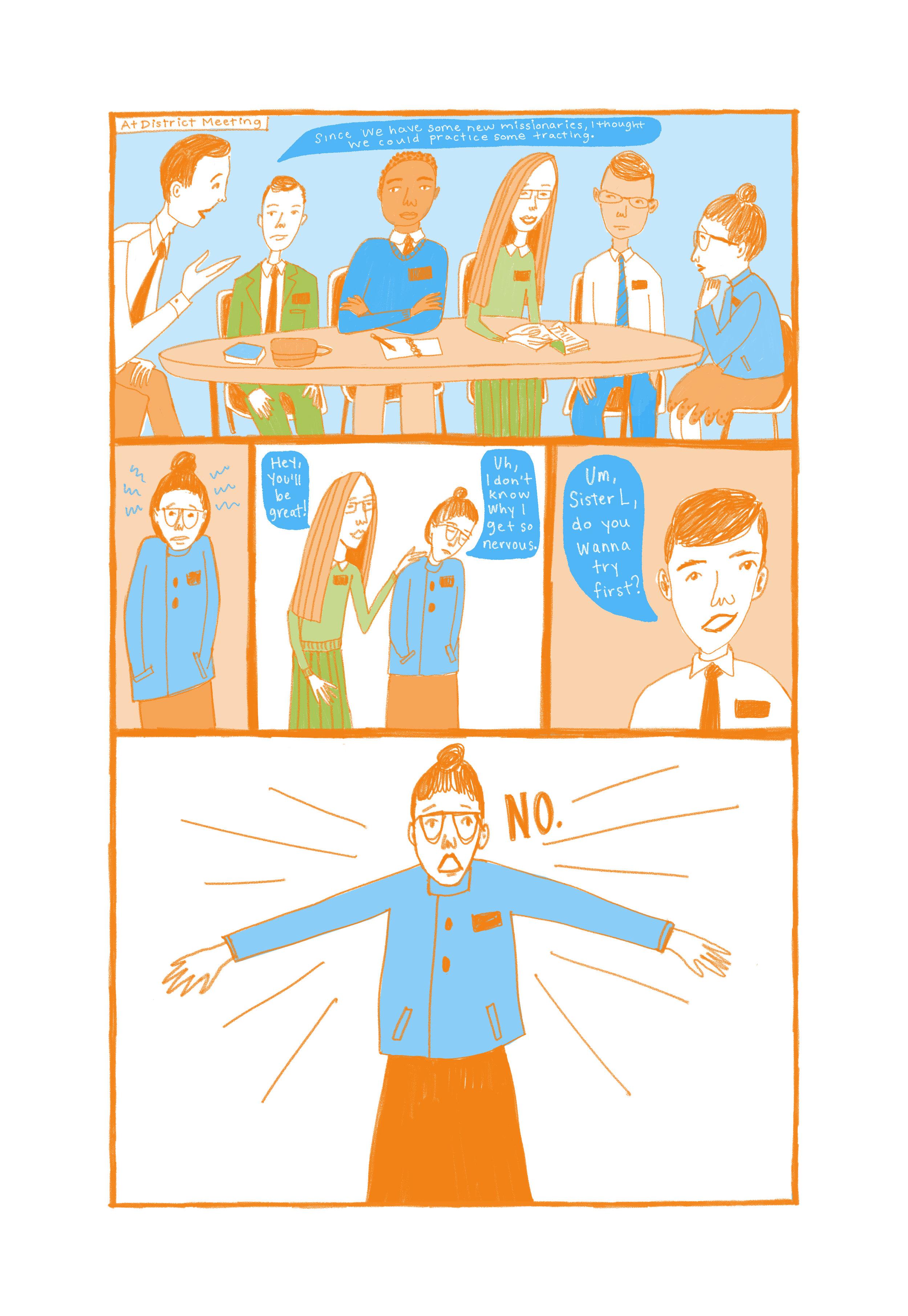 Comics & Zines — Illustration
