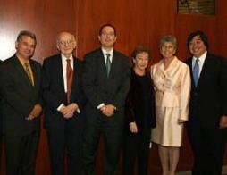 José Alvarez, Lou Henkin, David Schizer, Alice Henkin, Rosemary Barkett & Harold Koh