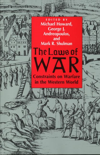 The lectures from our 1991 course on the history of the  Laws of War  were published by Yale University Press (1994, 1997).