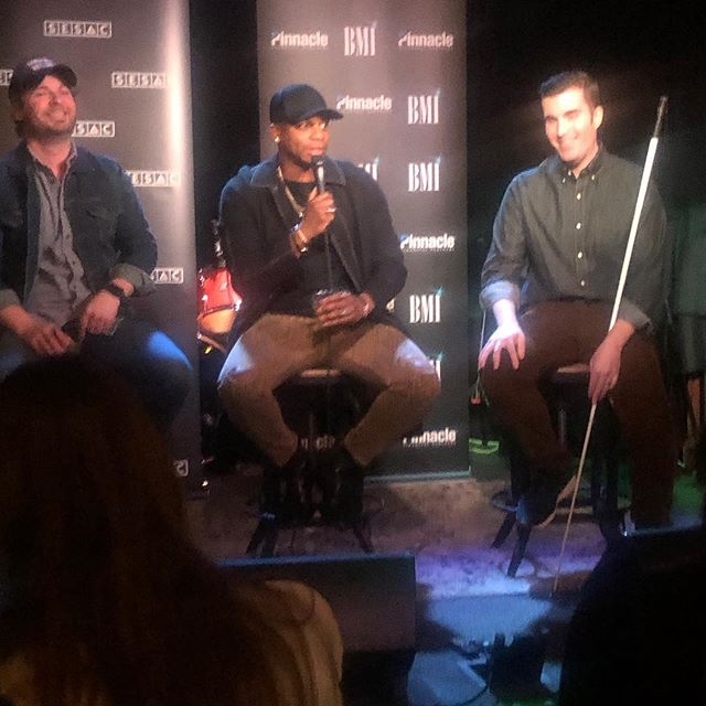 #meetthepress — It's the #numberone party to celebrate #bestshot topping the #countrymusic charts. So glad to be here with @joshua_london and @jimmieallen! #nashville #musiccity #songwriter #songwriting #songwriterslife